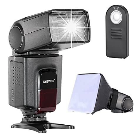 Neewer TT560 Speedlite Flash Kit para Canon Nikon Sony Pentax ...